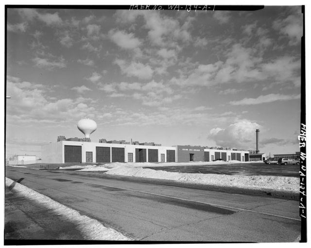 Fairchild Air Force Base, Engine Test Cell Building, Near intersection of Arnold Street & George Avenue, Spokane, Spokane County, WA