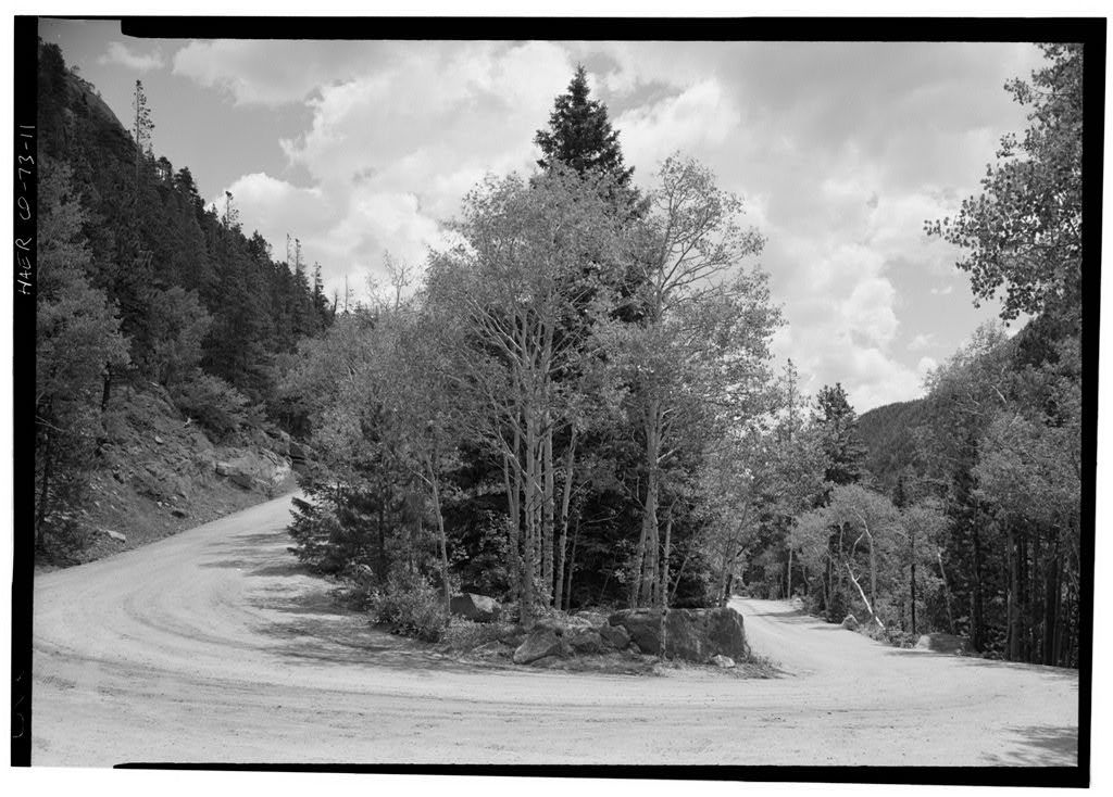 Fall River Road, Between Estes Park & Fall River Pass, Estes Park, Larimer County, CO
