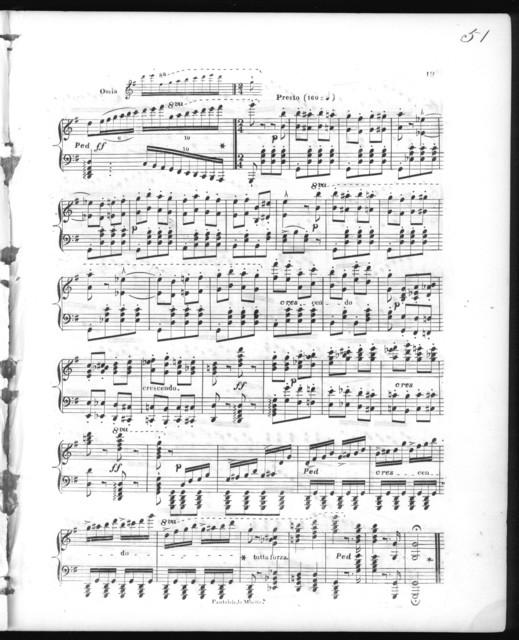 Fantaisie brillante pour le piano sur La Muette de