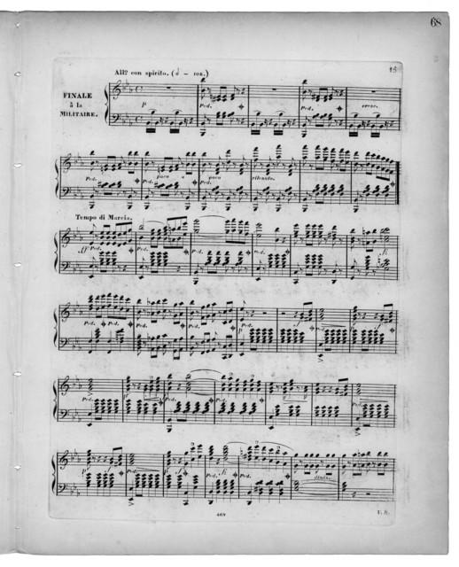 Fantaisie et variations pour le pianoforte sur Le