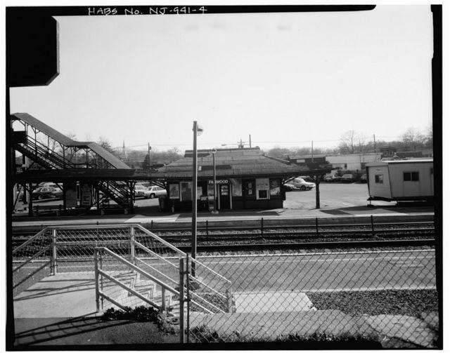 Fanwood Station, South Side Waiting Room, 238 North Avenue, Raritan Valley Line, Fanwood, Union County, NJ