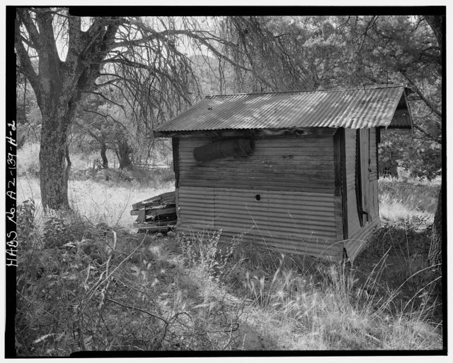 Faraway Ranch, Storage Shed, Willcox, Cochise County, AZ