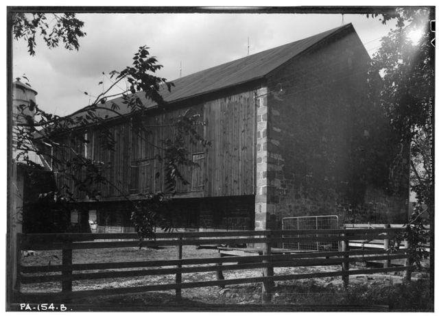 Farm Group & Mill Pond, Cocalico, Lancaster County, PA