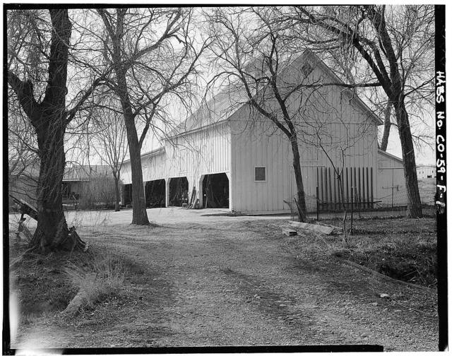 Farrel Farm, Barn, 7381 North Washington Street, Denver, Denver County, CO