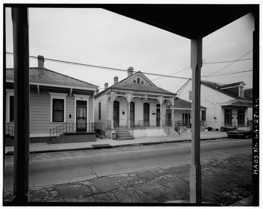 Faubourg Marigny District, 2447-2449 Royal Street (House), New Orleans, Orleans Parish, LA