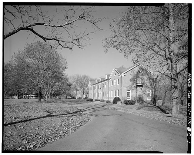 Federal Reformatory For Women, Cottages, State Route 3, South of Greenbrier River, Alderson, Greenbrier County, WV