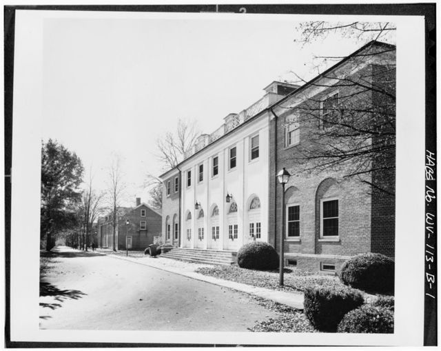 Federal Reformatory for Women, School & Chapel, State Route 3, South of Greenbrier River, Alderson, Greenbrier County, WV