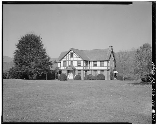 Federal Reformatory for Women, Warden's House, State Route 3, South of Greenbrier River, Alderson, Greenbrier County, WV
