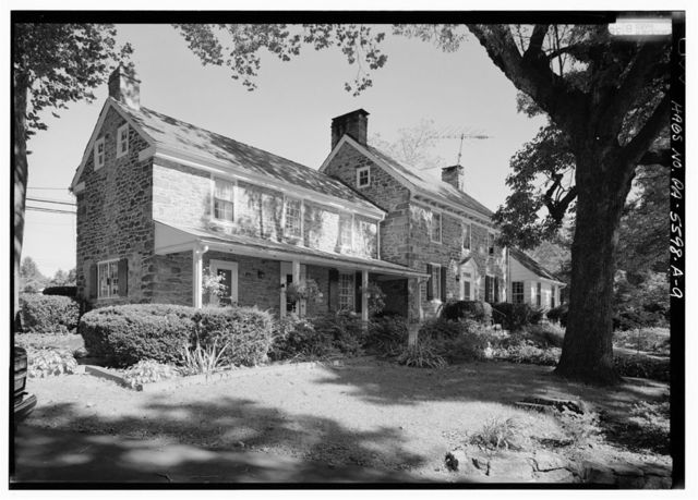 Fell Farm, House, Route 202 & Mechanicsville Road, Buckingham, Bucks County, PA