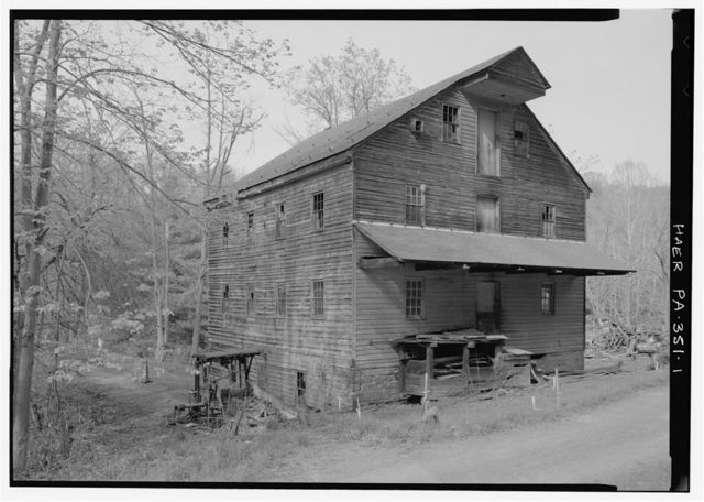 Felten's Mill, South side of Brush Creek, East of junction of State Route 2029 & Township Route 386, Breezewood, Bedford County, PA