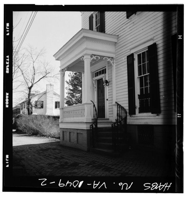 Fendall House, 611 Oronoco Street, Alexandria, Independent City, VA