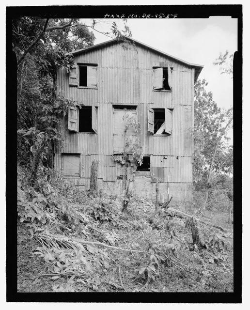 Finca Silem, Coffee Processing Structure No. 1, Highway 139, Kilometer 9.3, Maraguez, Ponce Municipio, PR