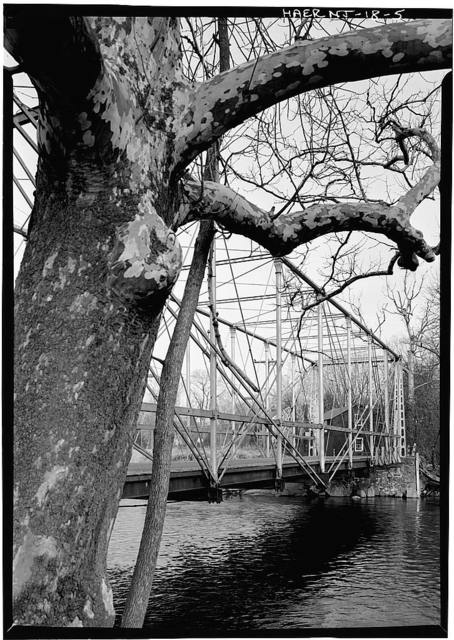 Fink Through-Truss Bridge, Hunterdon County Government Complex (moved to), Flemington, Hunterdon County, NJ