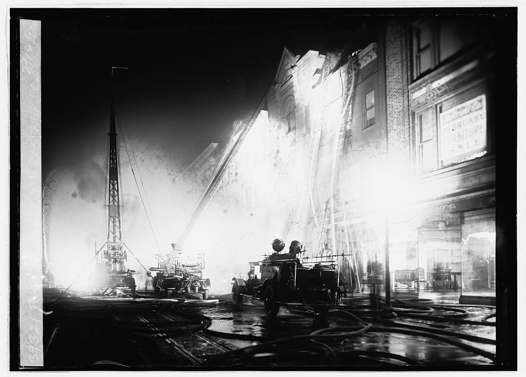 Fire at Capital Wall Paper Co., 2/16/23