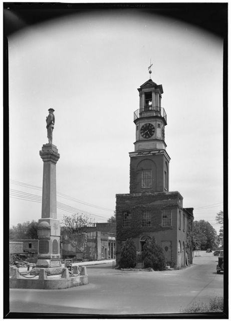 Fire Station & Municipal Offices, Congress & Washington Streets, Winnsboro, Fairfield County, SC