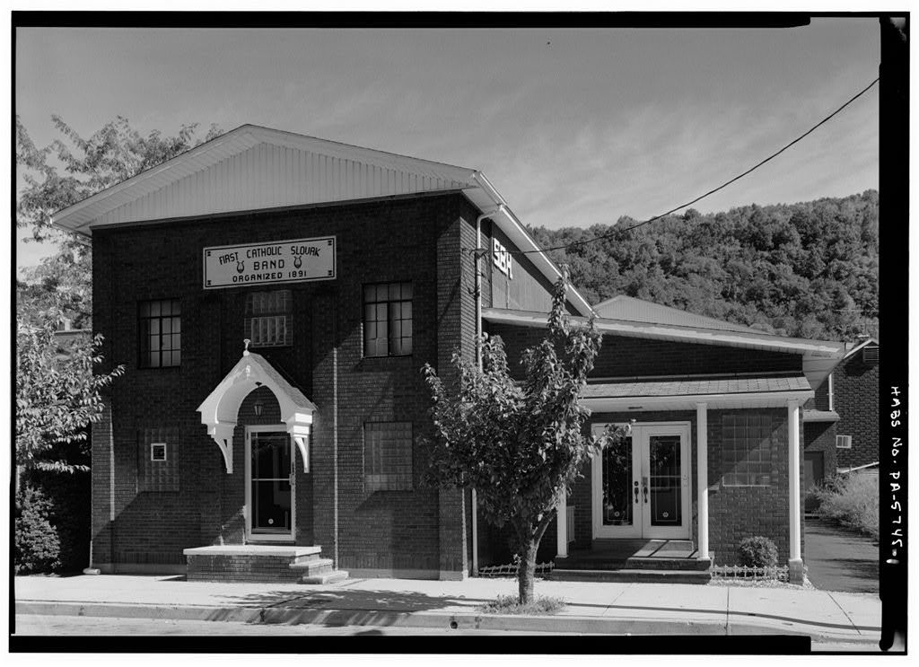 First Catholic Slovak Band Hall, 716 Chestnut Street, Johnstown, Cambria County, PA
