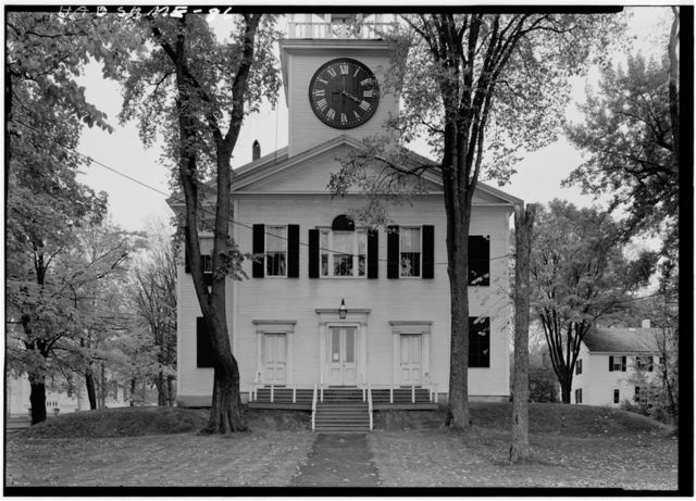First Church (Congregational Unitarian), Northwest corner of Church & Spring Streets, Belfast, Waldo County, ME