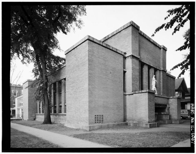 First Congregational Church of Austin, 5701 West Midway Park, Chicago, Cook County, IL