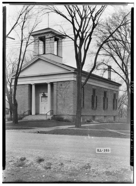 First Congregational Church, Union Street, Rockton, Winnebago County, IL