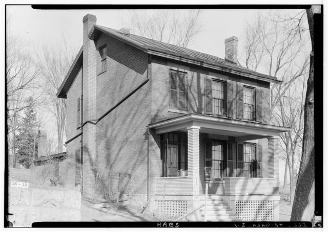 First Grant House, 121 South High Street, Galena, Jo Daviess County, IL