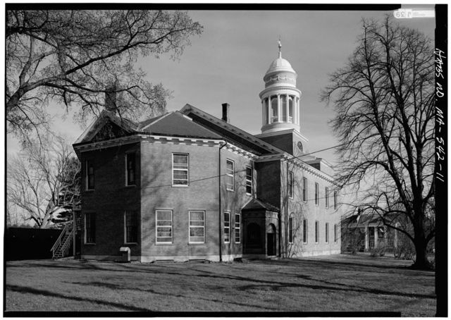 First Parish Church, Town Green, Thayer Drive, Lancaster, Worcester County, MA