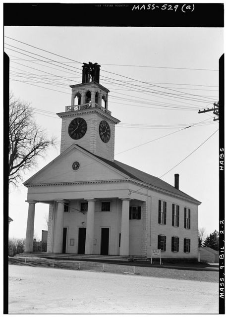 First Parish Unitarian Church, Billerica, Middlesex County, MA