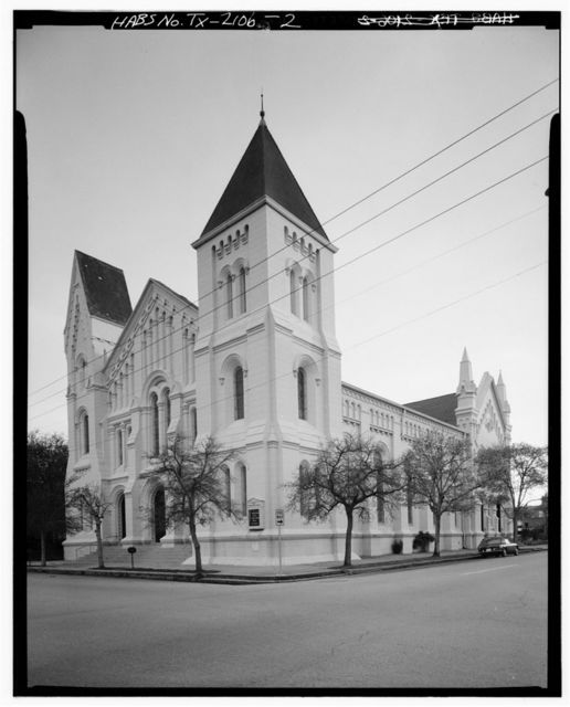 First Presbyterian Church, Church & Nineteenth Streets, Galveston, Galveston County, TX