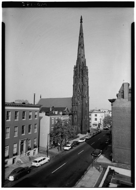 First Presbyterian Church, Madison Street & Park Avenue, Baltimore, Independent City, MD