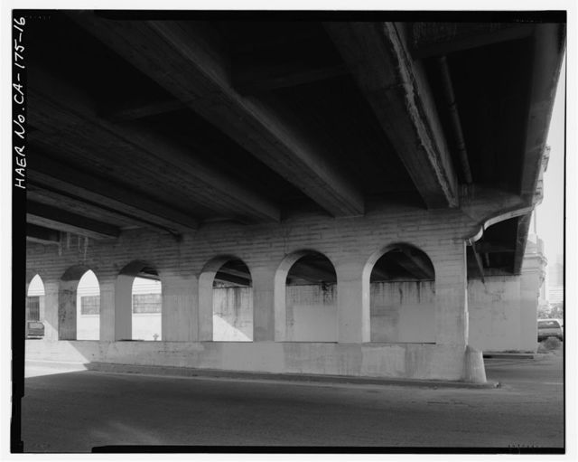 First Street Bridge, Spanning Los Angeles River at First Street, Los Angeles, Los Angeles County, CA