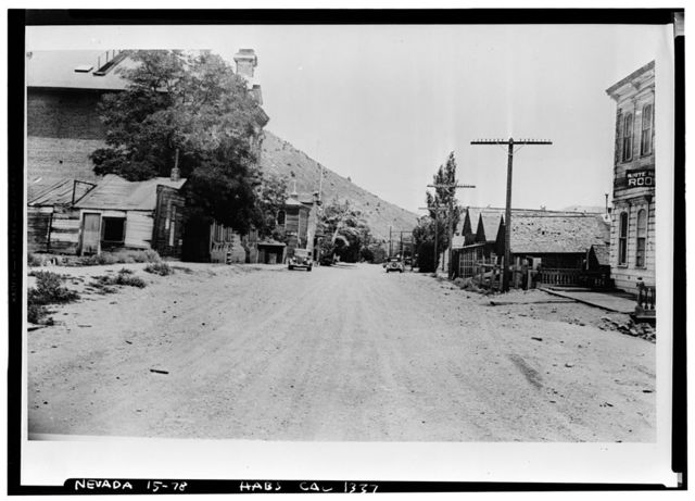 First Street (Commercial Buildings), Virginia City, Storey County, NV