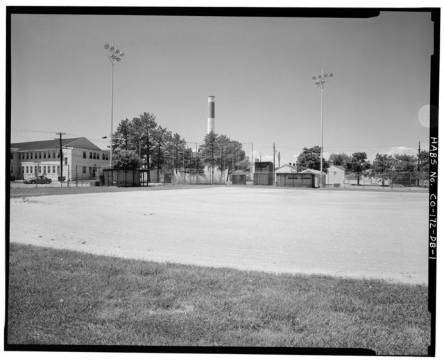 Fitzsimons General Hospital, Baseball Field, East McCloskey Avenue & North Fourteenth Street, Northeast Corner, Aurora, Adams County, CO