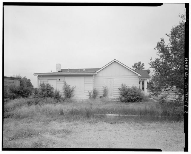 Fitzsimons General Hospital, Civilian Employee Housing, North end of North Hickey Street, 725 feet North-Northwest of intersection of North Hickey Street & West Loosley Avenue, Aurora, Adams County, CO