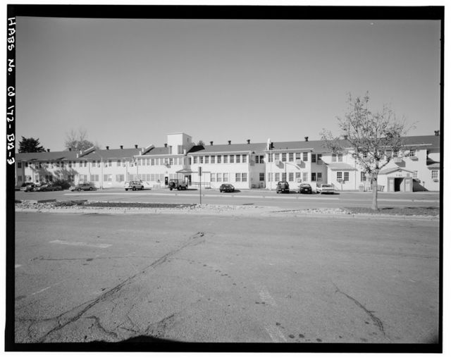 Fitzsimons General Hospital, Infirmary, Northwest Corner of East Bushnell Avenue & South Page Street, Aurora, Adams County, CO
