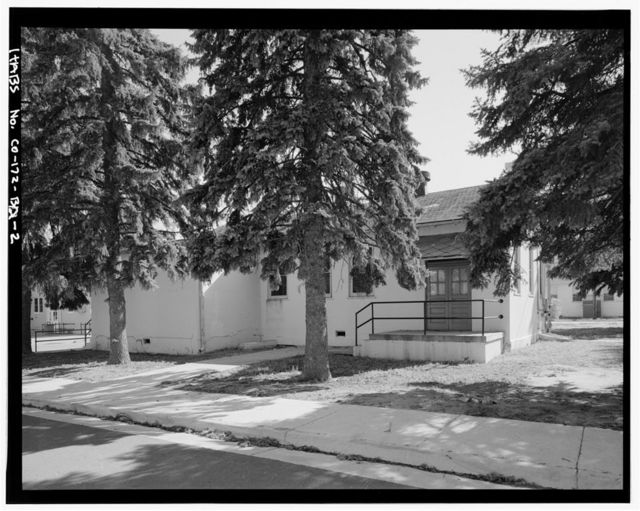 Fitzsimons General Hospital, Pharmacy & Prophylactic Station, Northwest Corner of West McAfee Avenue & South Eighth Street, Aurora, Adams County, CO