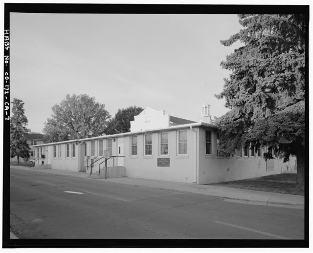 Fitzsimons General Hospital, Red Cross Building, South Eighth Street Bounded by West McAfee Avenue on South & West Harlow Avenue on North, Aurora, Adams County, CO