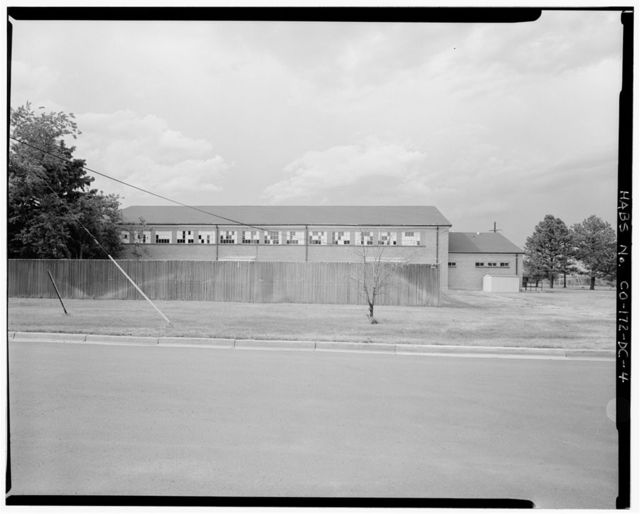 Fitzsimons General Hospital, Swimming Pool, Southeast corner of East Nineteenth Place (formerly East McAfee Avenue) & Wheeling Street (formerly South Van Valzah Street), Aurora, Adams County, CO
