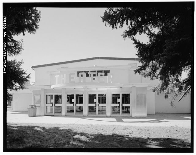 Fitzsimons General Hospital, Theater, Northwest Corner of East McAfee Avenue & South Page Street, Aurora, Adams County, CO