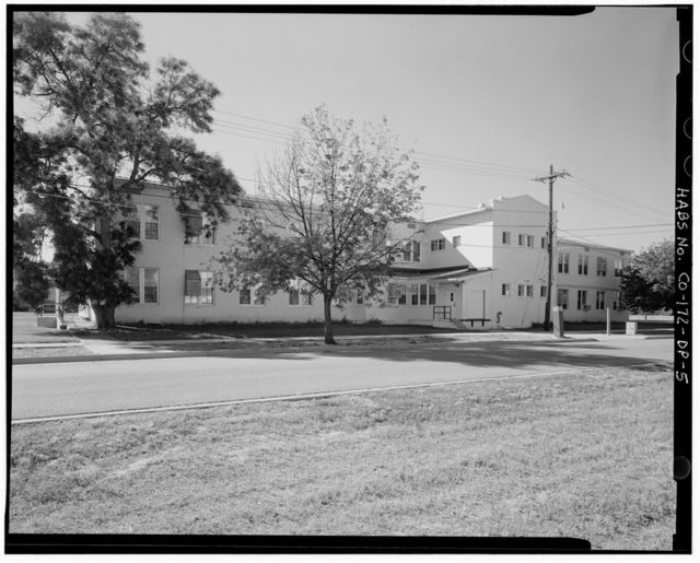 Fitzsimons General Hospital, Tubercular Ward, East Bushnell Avenue, North side, 225 feet East of South Page Street, Aurora, Adams County, CO