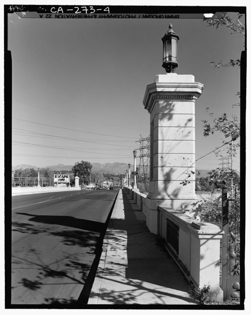 Fletcher Drive Bridge, Spanning Los Angeles River, Los Angeles, Los Angeles County, CA