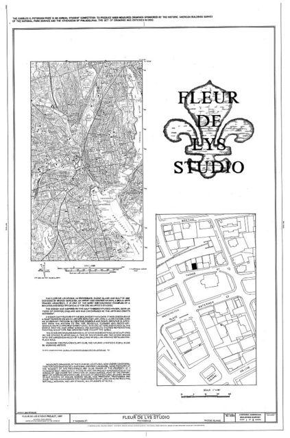Fleur De Lys Studio, 7 Thomas Street, Providence, Providence County, RI