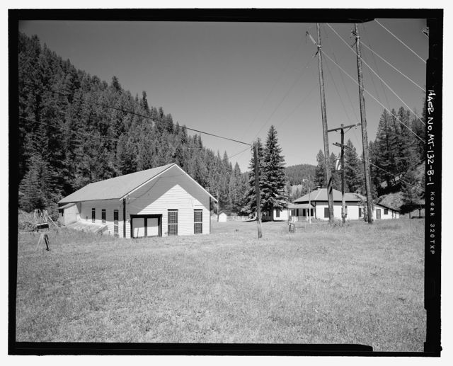 Flint Creek Hydroelectric Project, Powerhouse, Approximately 3 miles southeast of Porters Corner on Powerhouse Road, Philipsburg, Granite County, MT
