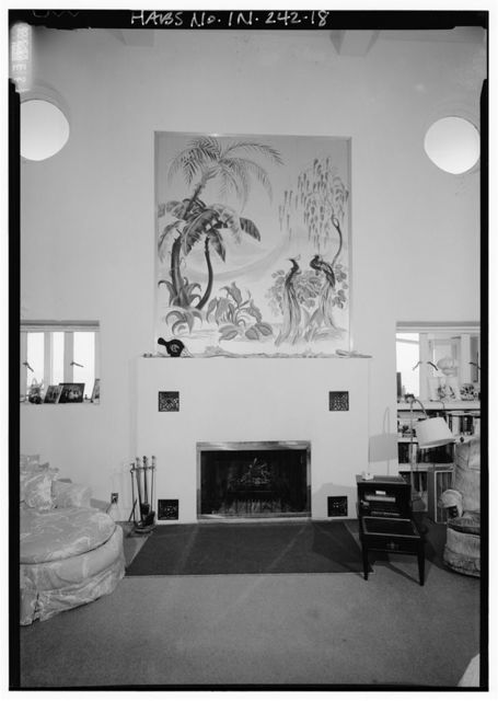Florida Tropical House, 250 Lake Front Drive (moved from Chicago, IL), Beverly Shores, Porter County, IN