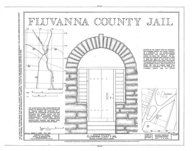 Fluvanna County Jail, Palmyra, Fluvanna County, VA