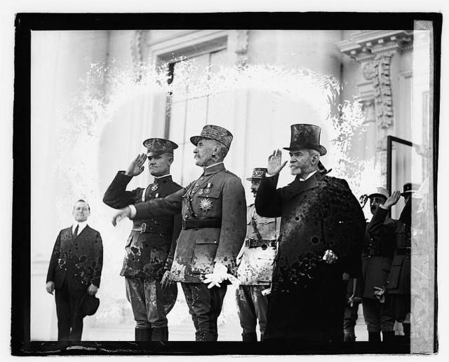 Foch at White House, 10/29/21