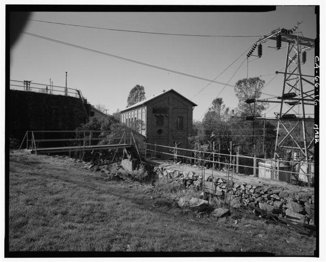 Folsom Powerhouse, Adjacent to American River, Folsom, Sacramento County, CA