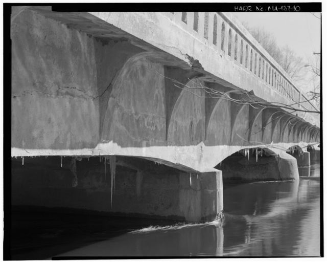 Fordway Bridge, Spanning Concord River at Pollard Street, Billerica, Middlesex County, MA