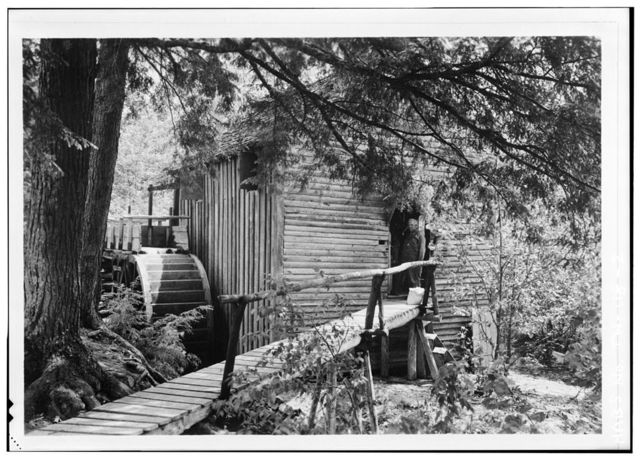Forge Creek Dam-John Cable Mill, Townsend, Blount County, TN