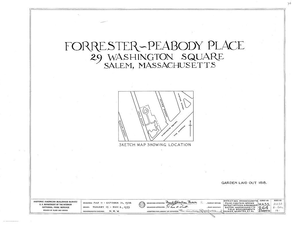 Forrester-Peabody Place, 29 Washington Square, Salem, Essex County, MA