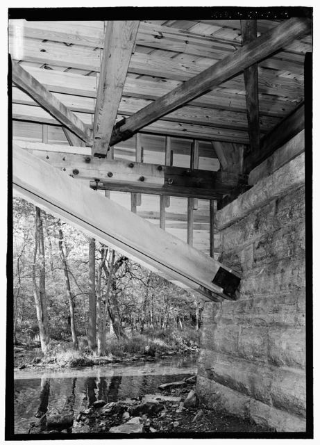 Forsythe Bridge, Spanning Big Flat Rock Creek, CR 650S, Moscow, Rush County, IN