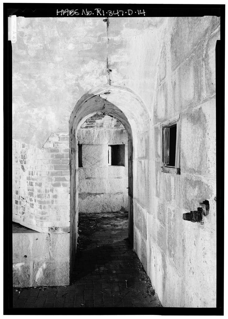 Fort Adams, Redoubt, Brenton Point, Newport, Newport County, RI